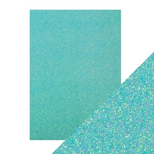 Tonic TROPICAL TIDE A4 Glitter Cardstock 9950e Preview Image