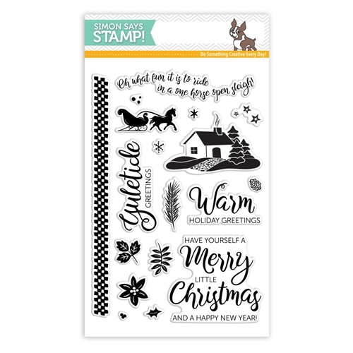 Simon Says Clear Stamps YULETIDE HOLIDAY sss101810 * Preview Image