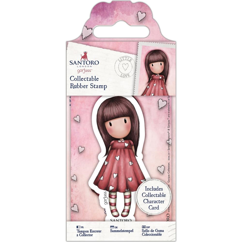 DoCrafts LITTLE LOVE Mini Cling Stamp Gorjuss 907150 zoom image
