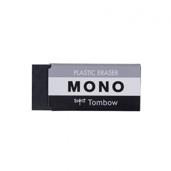 Tombow Mono MEDIUM BLACK Plastic Eraser 3854