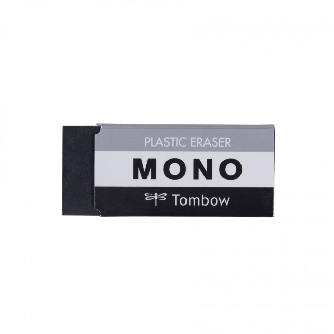 Tombow Mono MEDIUM BLACK Plastic Eraser 3854 zoom image