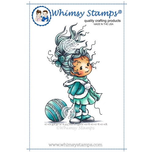 Whimsy Stamps ELEANOR Rubber Cling Stamp szws214 Preview Image