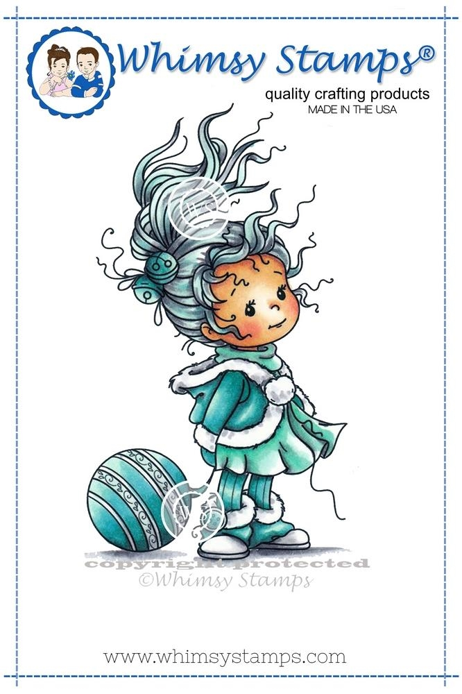 Whimsy Stamps ELEANOR Rubber Cling Stamp szws214 zoom image