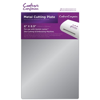 Crafter's Companion 6 x 8.9 METAL CUTTING PLATE Gemini Junior gemjr-acc-metp