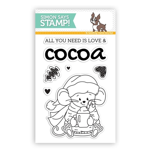 Simon Says Clear Stamps COCOA AND LOVE SSS101793 Preview Image