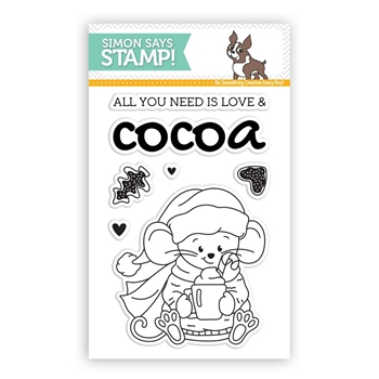 Simon Says Clear Stamps COCOA AND LOVE SSS101793 *