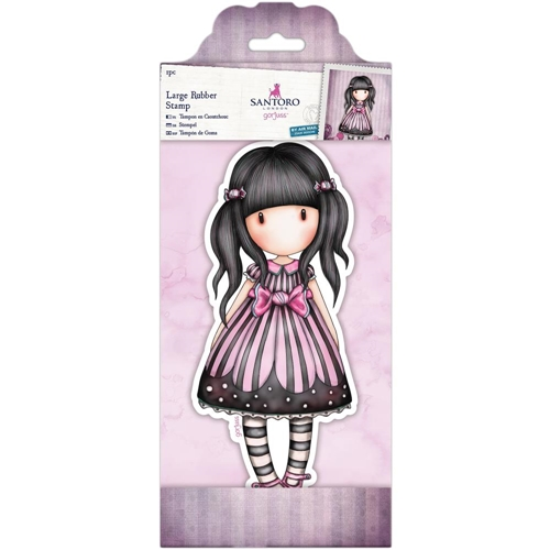 DoCrafts SUGAR & SPICE Large Cling Stamp Gorjuss go907136 Preview Image