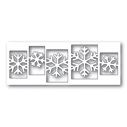 Simon Says Stamp SENSATIONAL SNOWFLAKE COLLAGE Wafer Dies s479 Preview Image