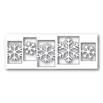 Simon Says Stamp SENSATIONAL SNOWFLAKE COLLAGE Wafer Dies s479