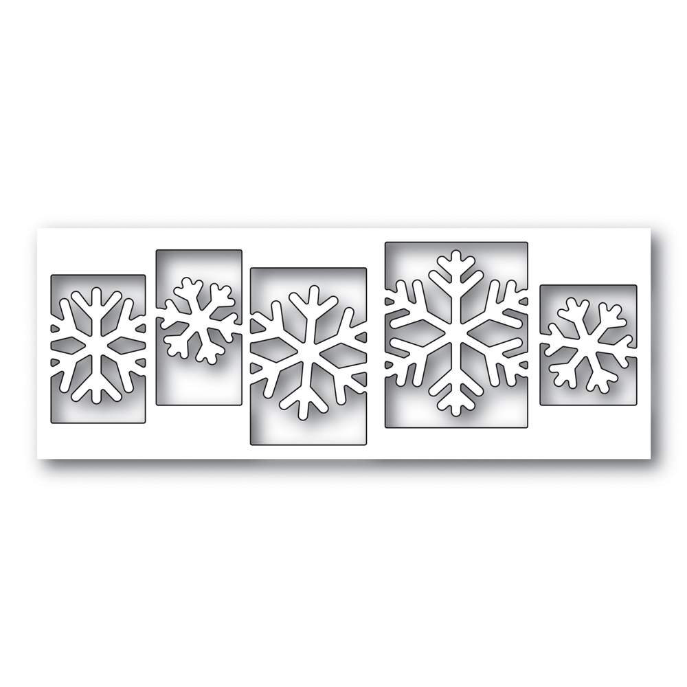 Simon Says Stamp SENSATIONAL SNOWFLAKE COLLAGE Wafer Dies s479 zoom image