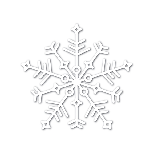 Simon Says Stamp Big JOY SNOWFLAKE Wafer Dies sssd111747 Preview Image
