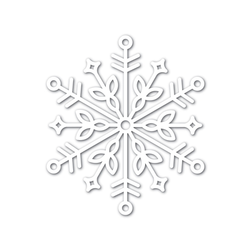 Simon Says Stamp Big BLISS SNOWFLAKE Wafer Dies sssd111749 Preview Image