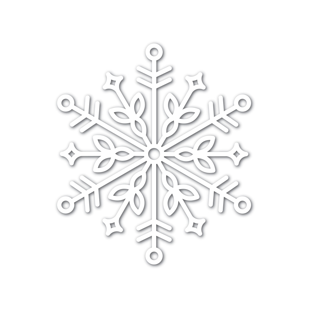Simon Says Stamp Big BLISS SNOWFLAKE Wafer Dies sssd111749 zoom image