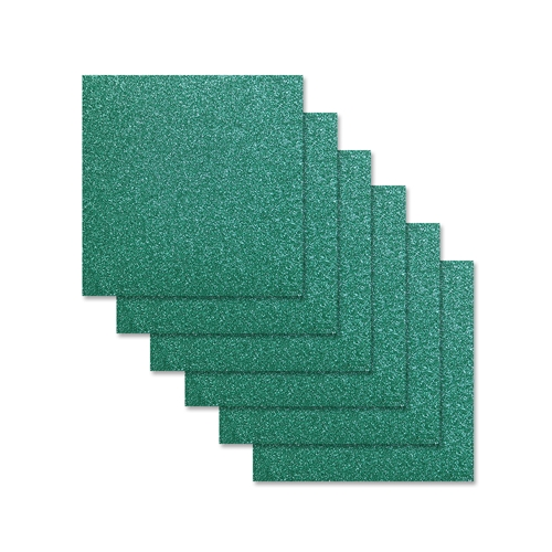 Simon Says Stamp Cardstock EMERALD GLITTER 6x6 sss302 Preview Image