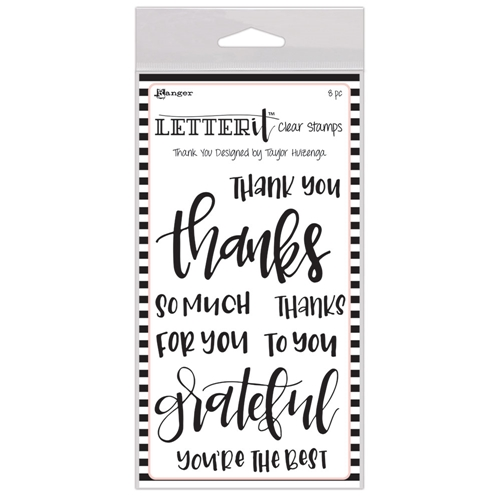 Ranger THANK YOU Letter It Stamp Set lec59325 Preview Image