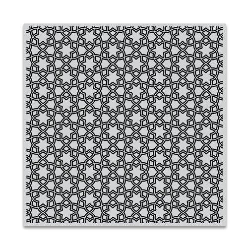 Hero Arts Cling Stamp FLORAL TILE Bold Prints CG725 Preview Image