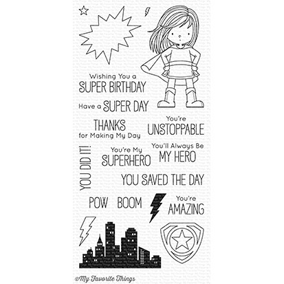 My Favorite Things YOU'RE SUPER Clear Stamps BB53 Preview Image