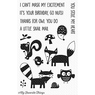 My Favorite Things FRIENDLY FOREST Clear Stamps CS237