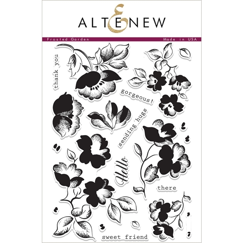 Altenew FROSTED GARDEN Clear Stamp Set ALT1989 Preview Image