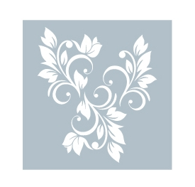 Gina K Designs FOLIAGE Art Stencil 47182 Preview Image