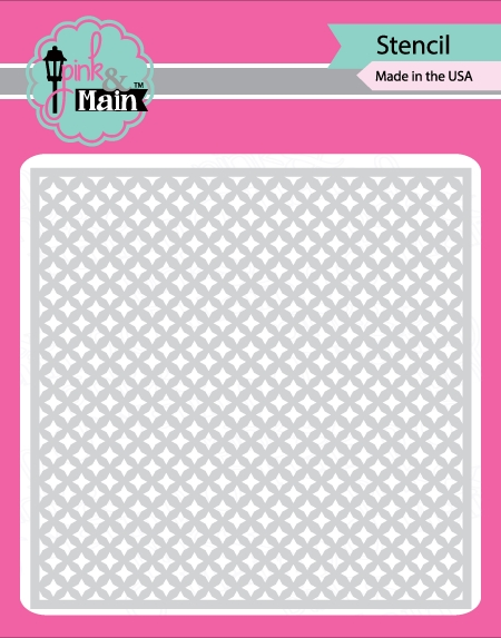 Pink and Main FOUR POINT STARS Stencil PMS002* zoom image
