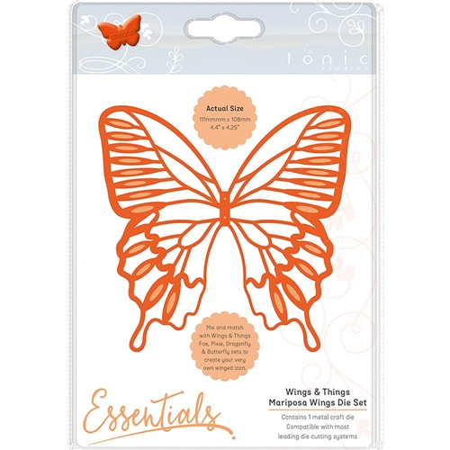 Tonic MARIPOSA WINGS Essentials Die Set 1931e Preview Image