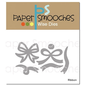 Paper Smooches RIBBON Wise Dies DED420 *