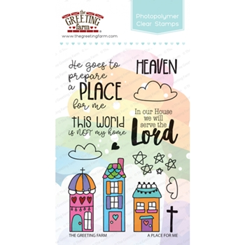 The Greeting Farm A PLACE FOR ME Clear Stamps TGF363