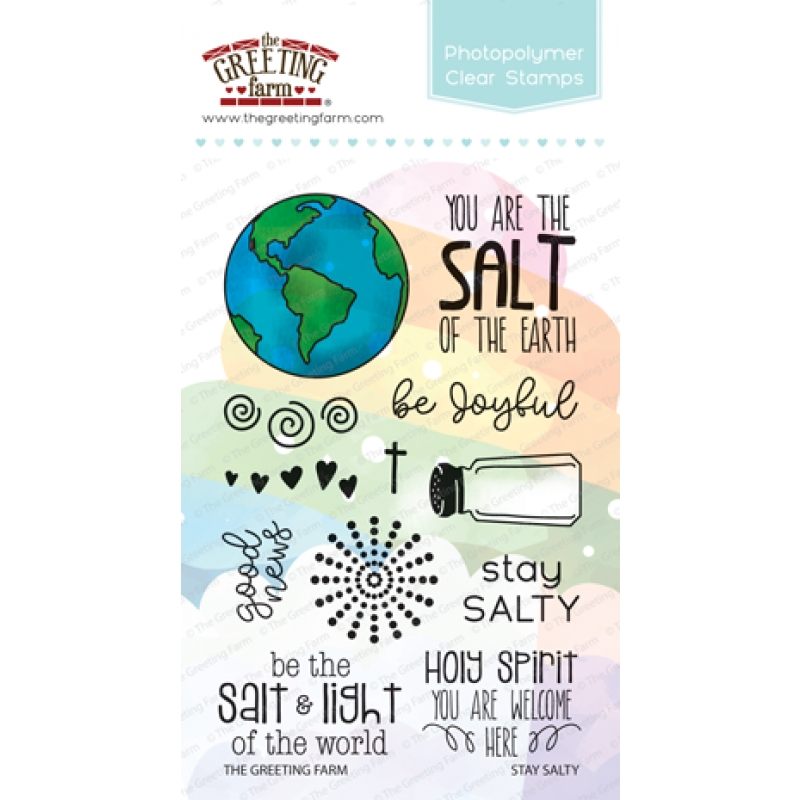 The Greeting Farm STAY SALTY Clear Stamps TGF361 zoom image