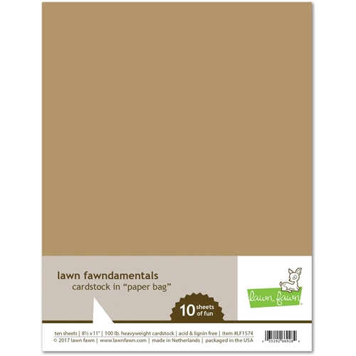 Lawn Fawn PAPER BAG Cardstock LF1574 Preview Image