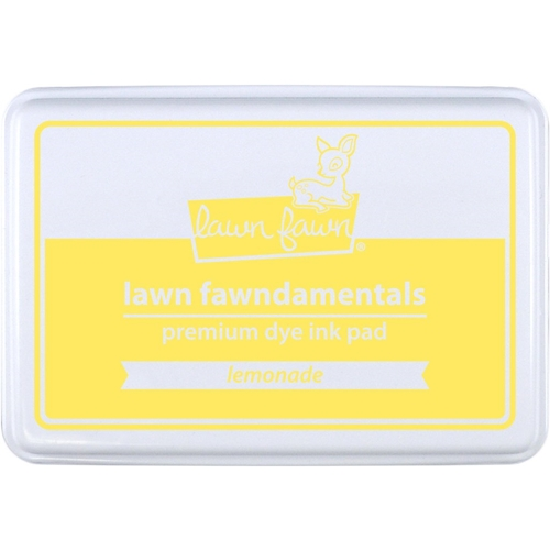 Lawn Fawn LEMONADE Premium Dye Ink Pad Fawndamental LF1566 Preview Image
