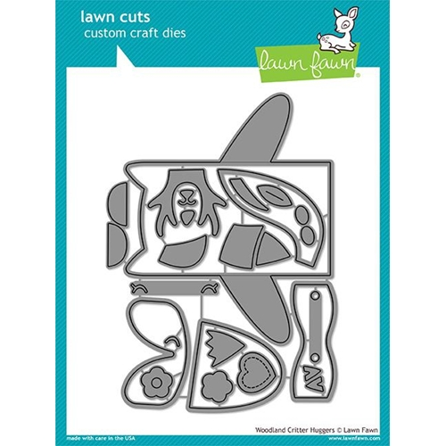 Lawn Fawn WOODLAND CRITTER HUGGERS Lawn Cuts LF1557 Preview Image