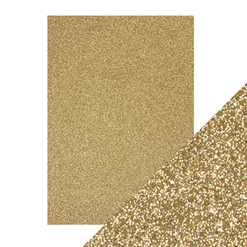 Tonic GOLD DUST A4 Glitter Cardstock 9940e*