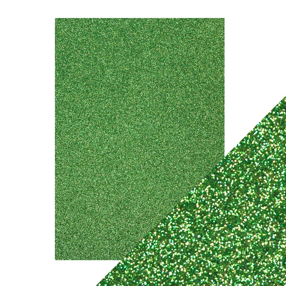 Tonic LUCKY SHAMROCK A4 Glitter Cardstock 9945e zoom image