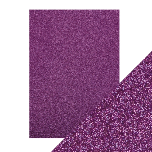 Tonic NEBULA PURPLE A4 Glitter Cardstock 9946e Preview Image