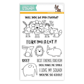 Simon Says Clear Stamps BEST FRIENDS sss101799 Friends *