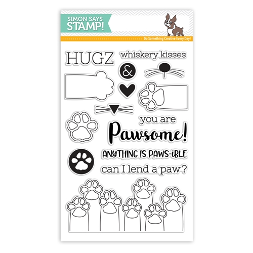 Simon Says Clear Stamps PAWS-ITIVITY sss101801 Friends * Preview Image