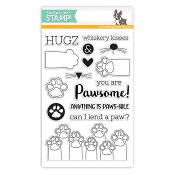 Simon Says Clear Stamps PAWS-ITIVITY sss101801 Friends *