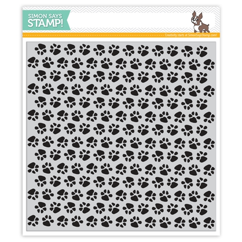 Simon Says Cling Rubber Stamp PAWS Background sss101808 Friends Preview Image