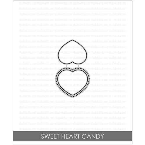 Studio Katia SWEET HEART CANDY Coordinating Dies stk033* Preview Image