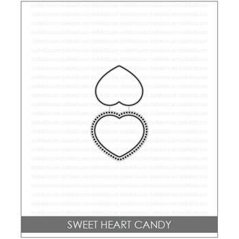 Studio Katia SWEET HEART CANDY Coordinating Dies stk033*