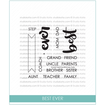 Studio Katia BEST EVER Clear Stamps stks037*