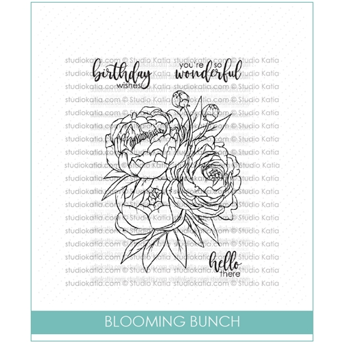 Studio Katia BLOOMING BUNCH Clear Stamps stks033 Preview Image