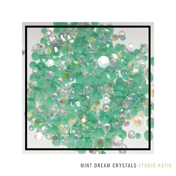 Studio Katia MINT DREAM Crystals sk2421