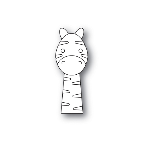 Simon Says Stamp PICTURE BOOK ZEBRA Wafer Dies s513 Friends Preview Image