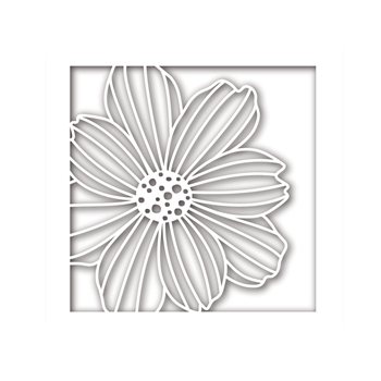 Simon Says Stamp COSMO FLOWER FRAME Wafer Dies sssd111774 Friends