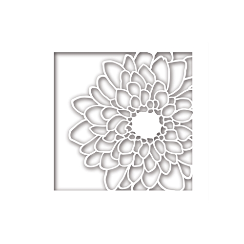 Simon Says Stamp MUM FLOWER FRAME Wafer Dies sssd111775 Friends Preview Image
