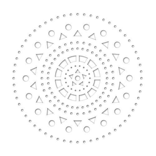 Simon Says Stamp MODERN CIRCLE CUTOUT Wafer Dies sssd111782 Friends * Preview Image