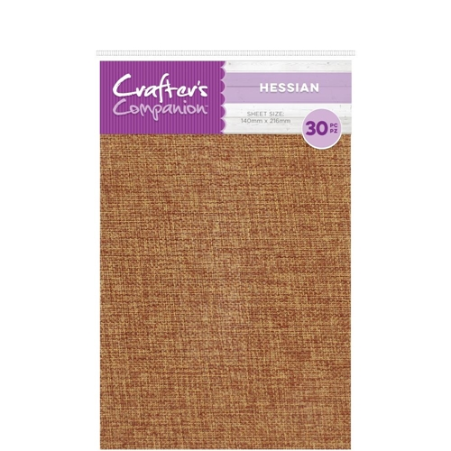 Crafter's Companion HESSIAN Craft Material Pack cc-hess Preview Image