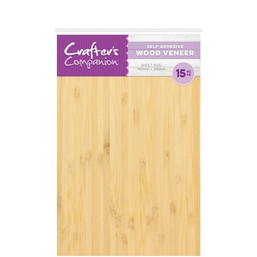 Crafter's Companion WOOD VENEER Craft Material Pack cc-woodv Preview Image